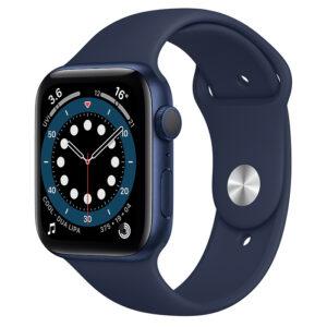 اپل واچ سری 6 آبی